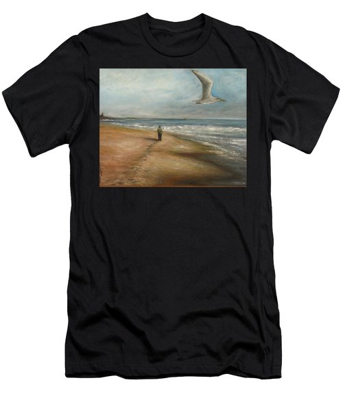 Watching The Show Men's T-Shirt (Athletic Fit)