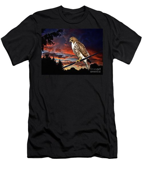 Watching The Sun Set Men's T-Shirt (Slim Fit) by Andrea Kollo