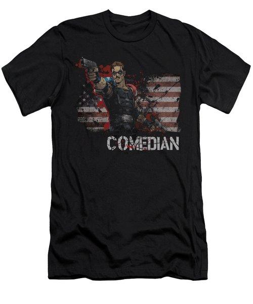 Watchmen - Comedian Men's T-Shirt (Athletic Fit)