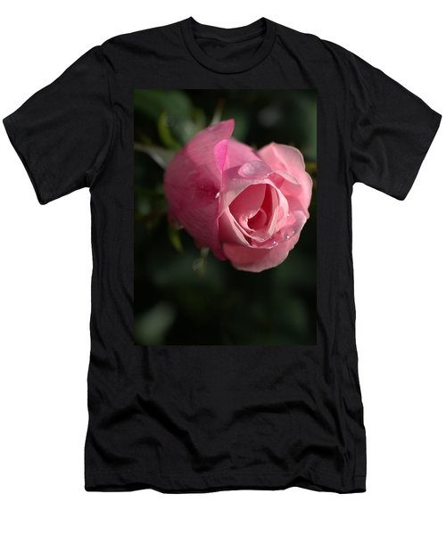 Water And Rose Men's T-Shirt (Athletic Fit)