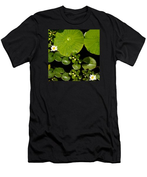 Water Drops Bristol Rhode Island Men's T-Shirt (Athletic Fit)