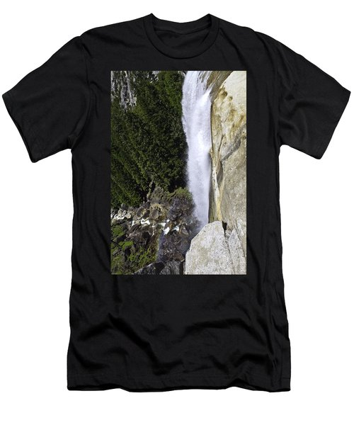 Men's T-Shirt (Slim Fit) featuring the photograph Water Fall by Brian Williamson