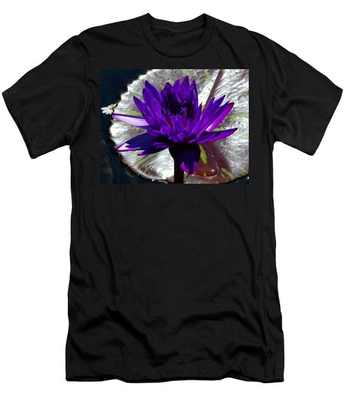 Water Lily 008 Men's T-Shirt (Athletic Fit)