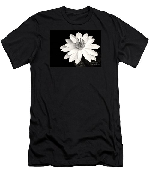 Water Lily Ballerina Men's T-Shirt (Athletic Fit)