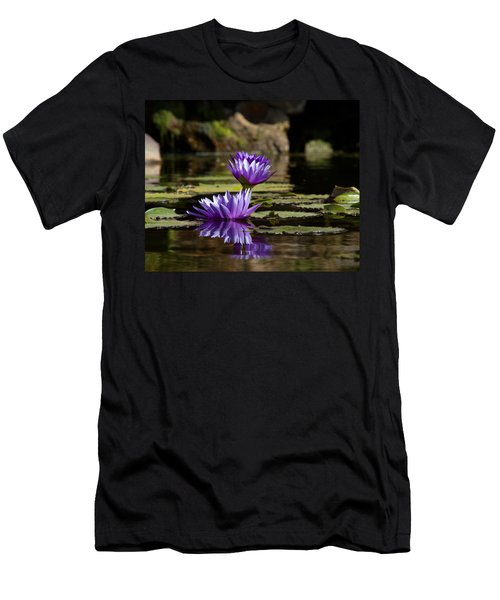 Water Lily  Men's T-Shirt (Slim Fit)