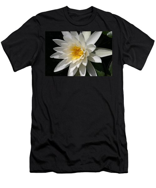 Men's T-Shirt (Slim Fit) featuring the photograph Water Lily  by Denyse Duhaime