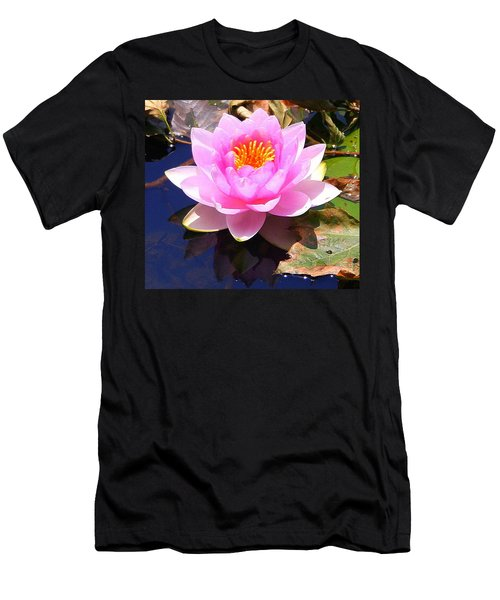 Water Lily In Pink Men's T-Shirt (Athletic Fit)