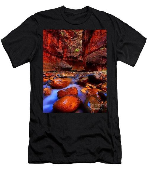 Water Runs Through It Men's T-Shirt (Athletic Fit)