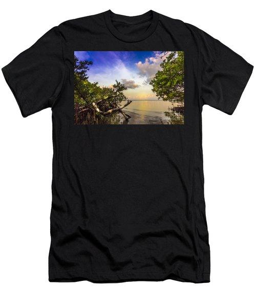 Water Sky Men's T-Shirt (Slim Fit)