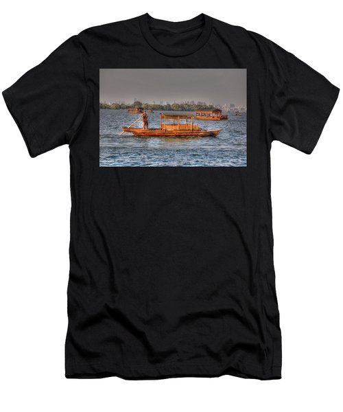Water Taxi In China Men's T-Shirt (Athletic Fit)
