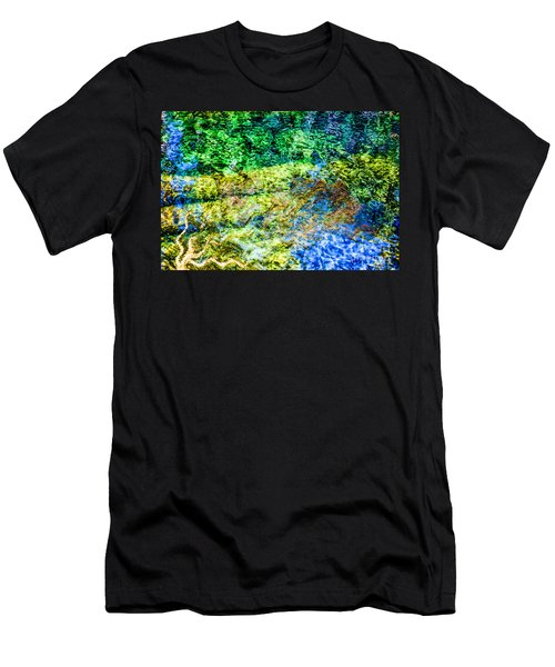 Water Tree Reflections Men's T-Shirt (Athletic Fit)