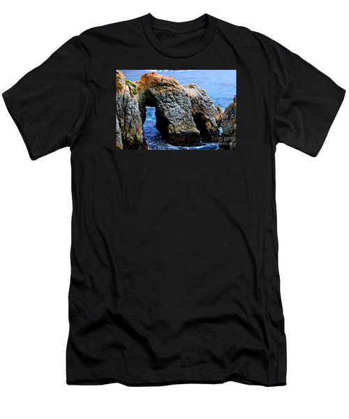 Water Tunnel Men's T-Shirt (Athletic Fit)
