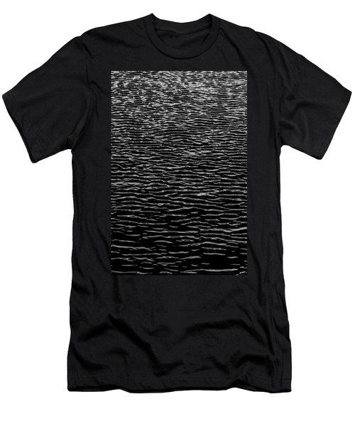 Water Wave Texture Men's T-Shirt (Athletic Fit)