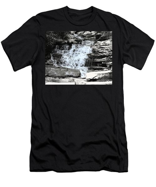 Waterfall 3 Men's T-Shirt (Athletic Fit)