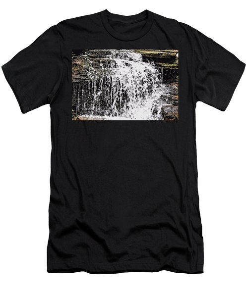 Waterfall 4 Men's T-Shirt (Athletic Fit)