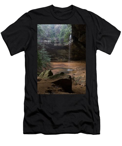 Waterfall At Ash Cave Men's T-Shirt (Athletic Fit)