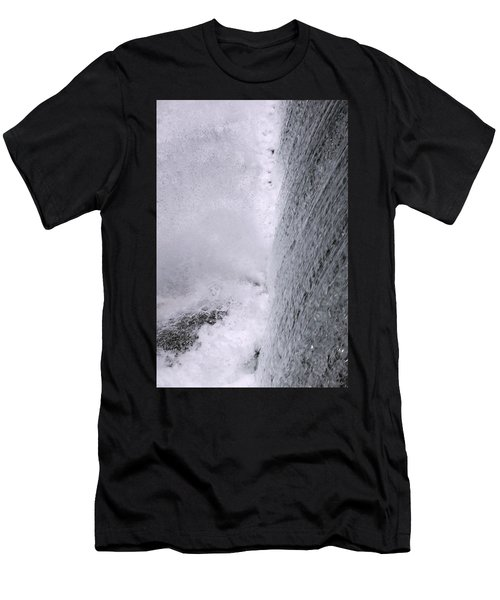 Waterfall Close-up Men's T-Shirt (Athletic Fit)