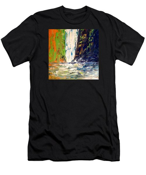 Waterfall No. 1 Men's T-Shirt (Athletic Fit)