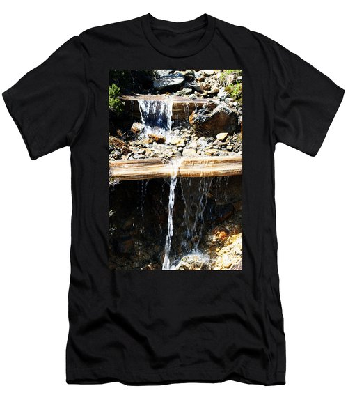 Waterfall Steps Men's T-Shirt (Athletic Fit)