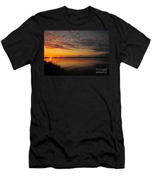 Waterfront Dawn Men's T-Shirt (Athletic Fit)