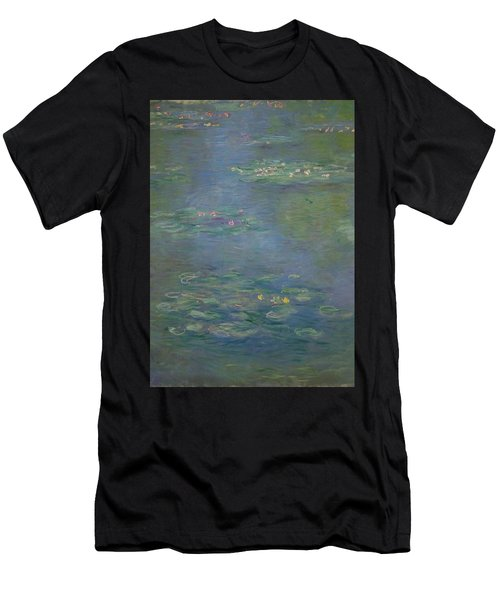 Waterlilies, Detail, 1903 Men's T-Shirt (Athletic Fit)