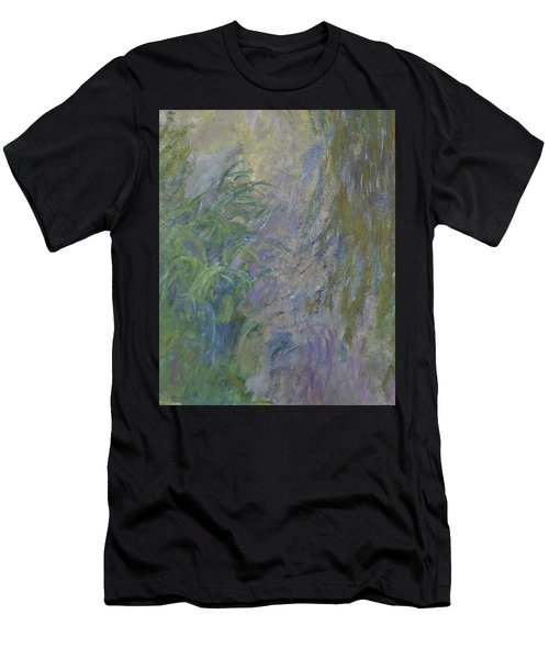 Waterlilies  Men's T-Shirt (Athletic Fit)