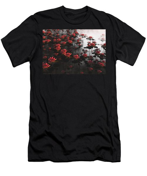 Waterlillies Men's T-Shirt (Athletic Fit)