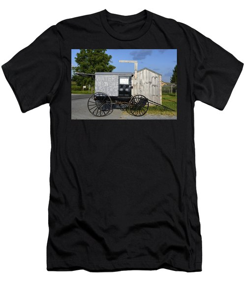 Watermelon Wagon Men's T-Shirt (Athletic Fit)