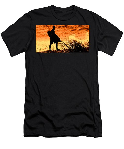 Wave Search Men's T-Shirt (Athletic Fit)
