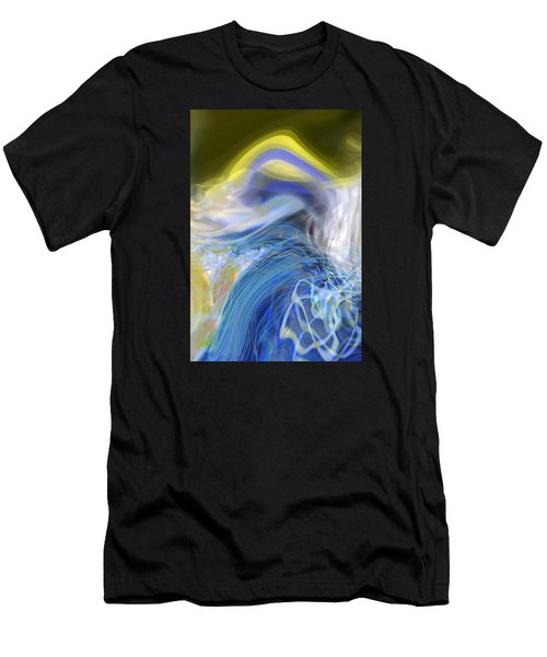 Wave Theory Men's T-Shirt (Athletic Fit)