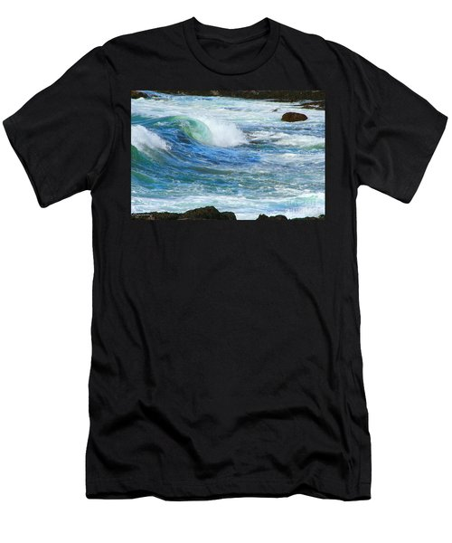 Wave To Me Men's T-Shirt (Athletic Fit)