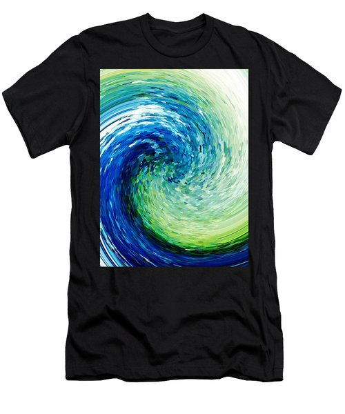 Wave To Van Gogh Men's T-Shirt (Athletic Fit)