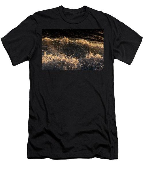 Waves Crashing On The Kona Coast Men's T-Shirt (Athletic Fit)