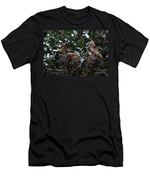 Wax Wings Supper  Men's T-Shirt (Slim Fit) by Skip Willits
