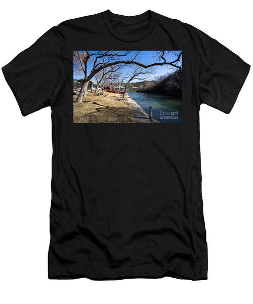 Men's T-Shirt (Athletic Fit) featuring the photograph We Are Trees And We Are Life by John Wadleigh