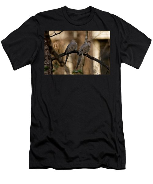 Men's T-Shirt (Slim Fit) featuring the photograph We Came Together - We're Leaving Together by Robert L Jackson