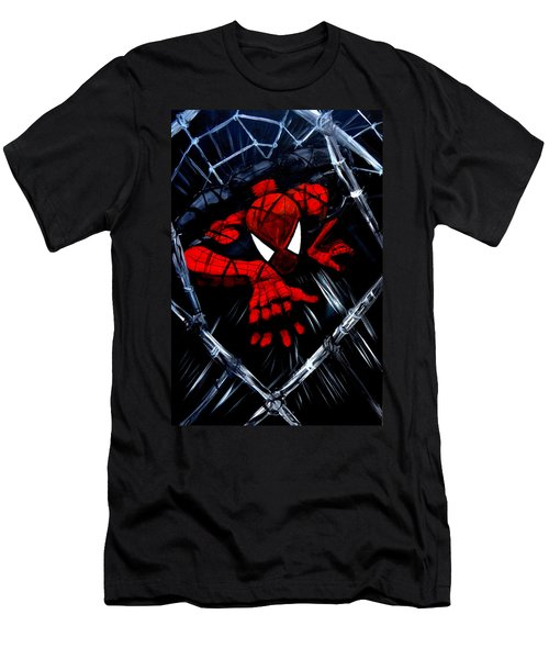 Web Crawler Men's T-Shirt (Athletic Fit)