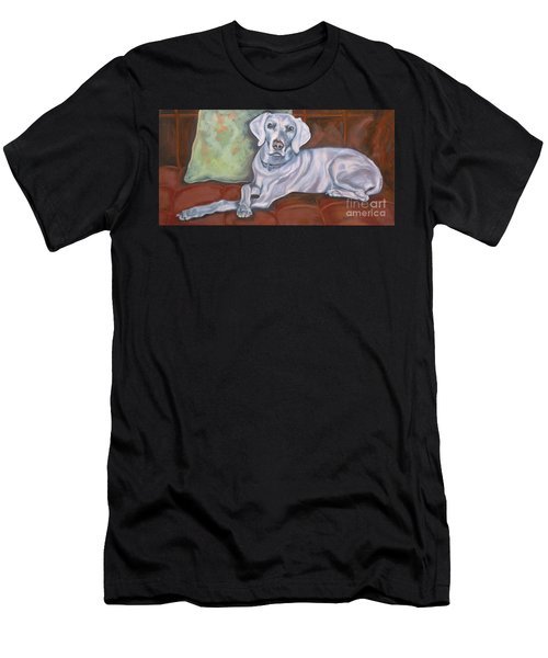 Weimaraner Reclining Men's T-Shirt (Athletic Fit)