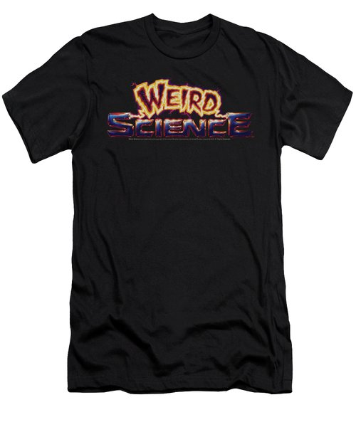 Weird Science - Galaxy Logo Men's T-Shirt (Athletic Fit)
