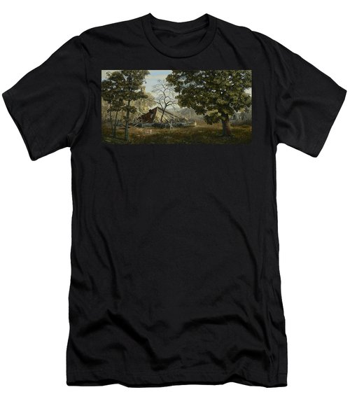 Welcome Home Men's T-Shirt (Slim Fit) by Duane R Probus