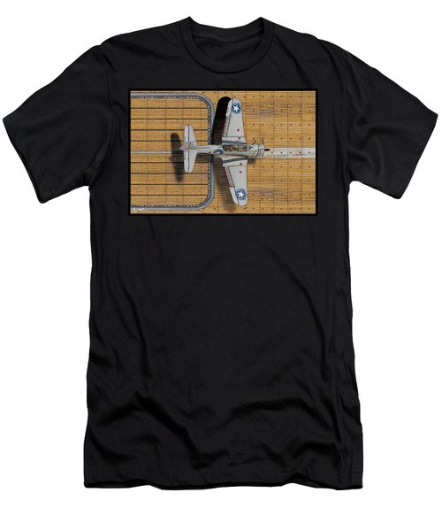 Welcome Home To The Hornet-sketch Men's T-Shirt (Athletic Fit)