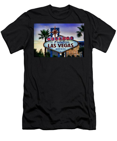Welcome To Your Best Vacation Men's T-Shirt (Slim Fit) by Kasia Bitner