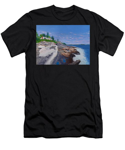 Weske Cottage Men's T-Shirt (Athletic Fit)