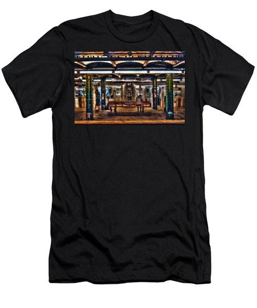 West 4th Street Subway Men's T-Shirt (Athletic Fit)