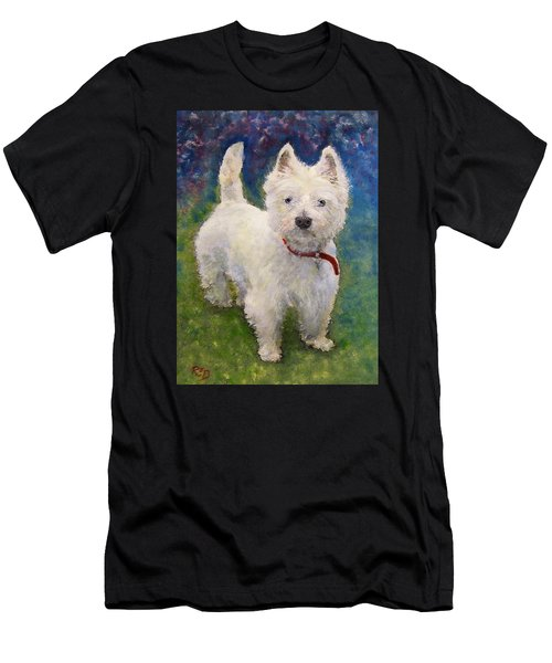 West Highland Terrier Holly Men's T-Shirt (Athletic Fit)