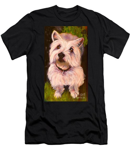 West Highland Terrier Reporting For Duty Men's T-Shirt (Athletic Fit)