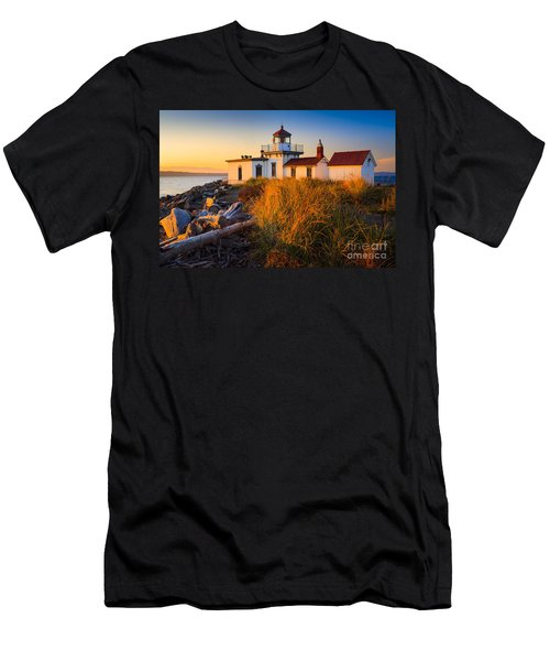 West Point Lighthouse Men's T-Shirt (Athletic Fit)