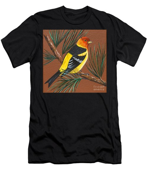 Western Tanager Men's T-Shirt (Athletic Fit)