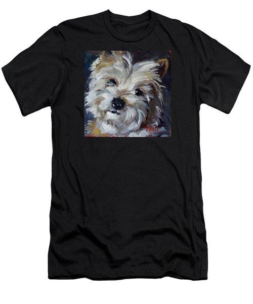 Westie Mix Men's T-Shirt (Athletic Fit)