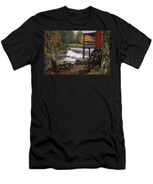 Weston Grist Mill Men's T-Shirt (Athletic Fit)